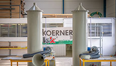KVK exhaust air scrubbers